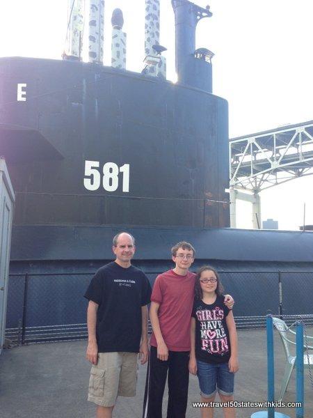 Submarine at OMSI