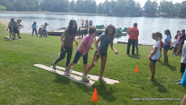Teen games Lake Rudolph