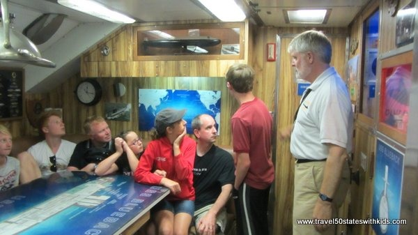 USS Blueback Tour at OMSI
