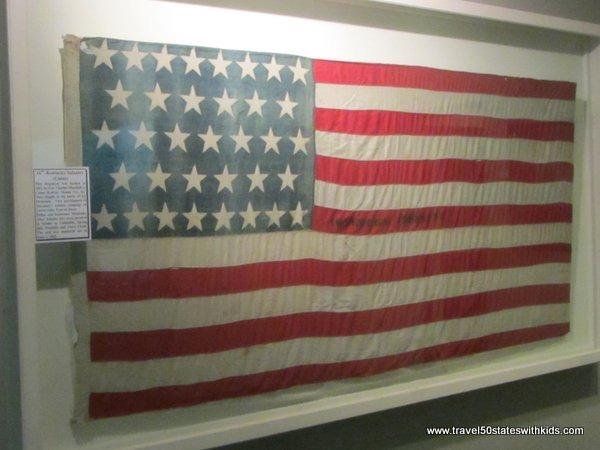 American Flag - Bardstown Civil War Museum