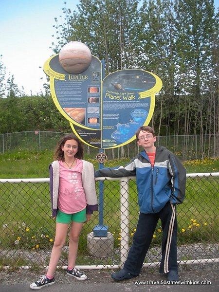 Anchorage Light Speed Planet Walk - Jupiter