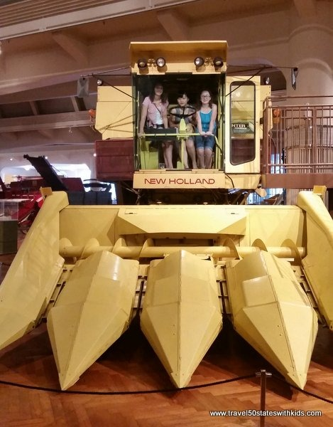 Climb aboard a combine - Henry Ford Museum