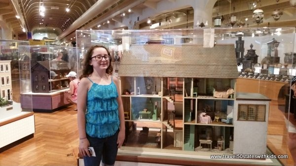 Doll houses at Henry Ford Museum