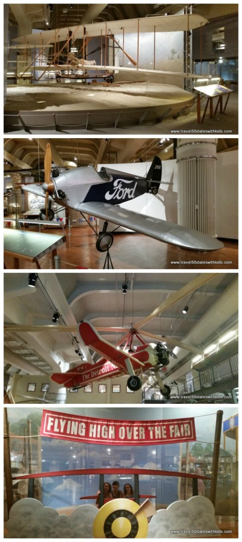 Early flight exhibits - Henry Ford Museum