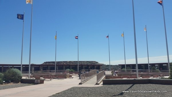 Four Corners Monument - run by Navajo