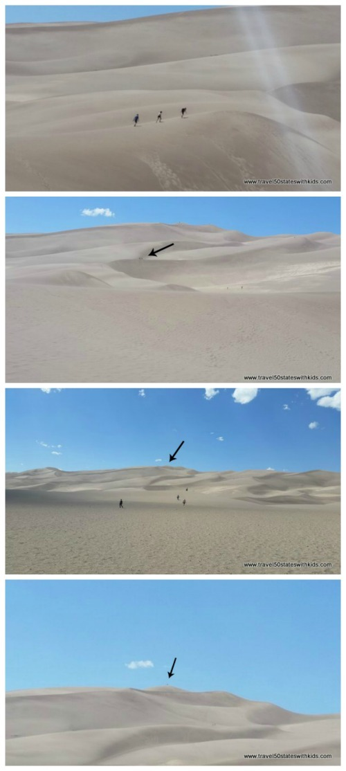 Hike to High Dune - Great Sand Dunes National Park