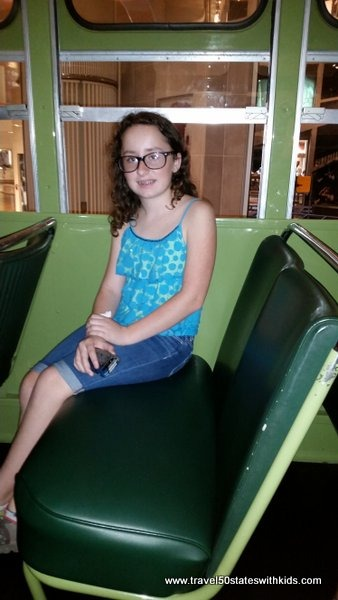 Inside the Rosa Parks bus - Henry Ford Museum