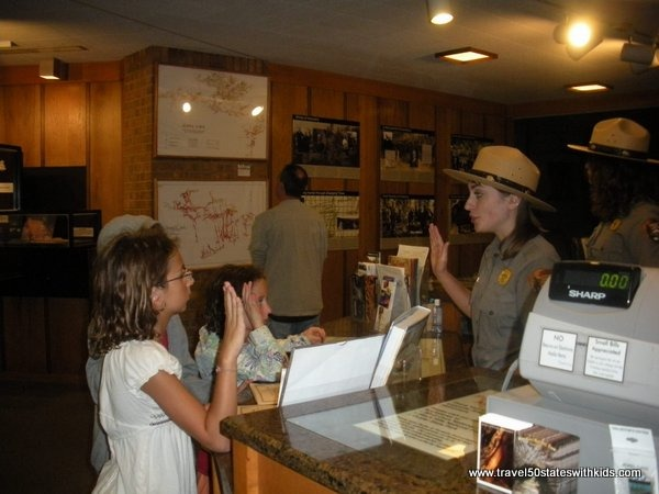 Junior Ranger Program at Jewel Cave