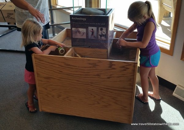 Kid-friendly exhibits at Great Sand Dunes National Park