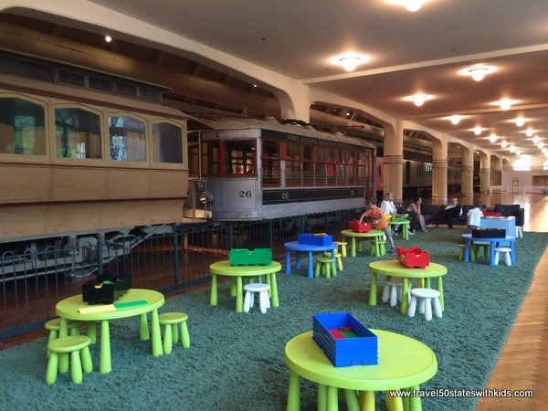 Kids area - railroads - Henry Ford Museum