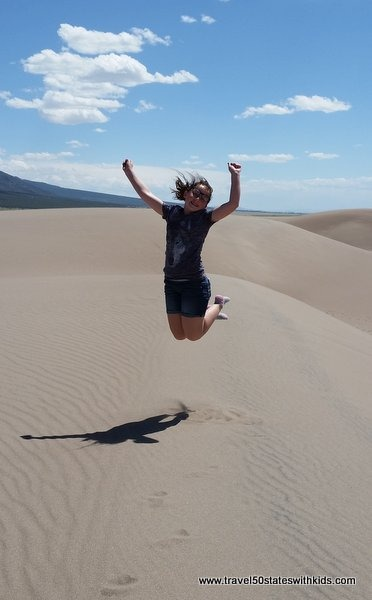 Kids love Great Sand Dunes National Park