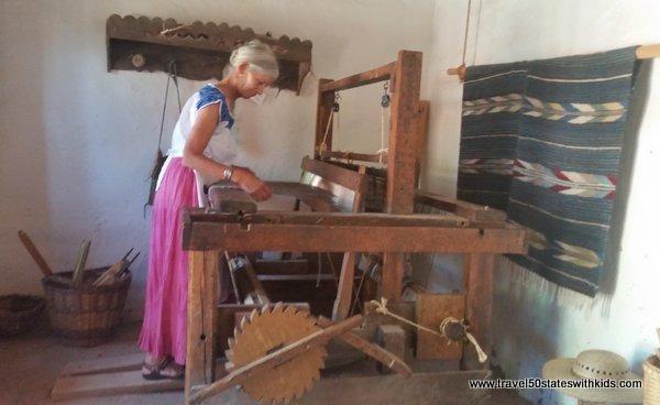 Loom at El Rancho de las Golondrinas