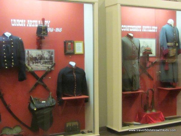 Miltary Uniforms - Bardstown Civil War Museum