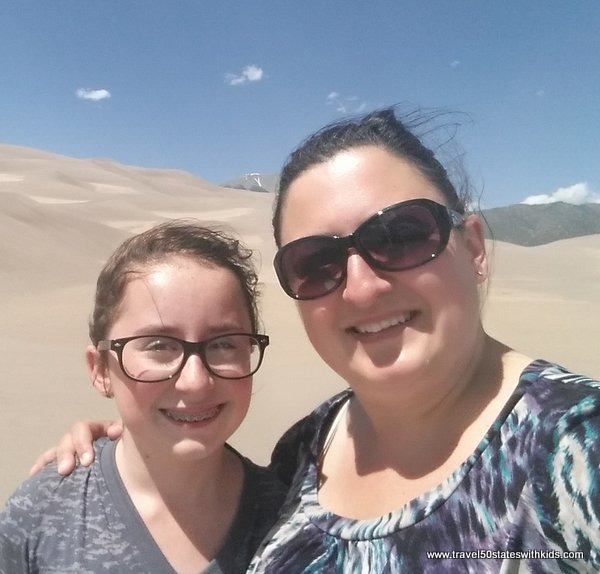 Selfie at Great Sand Dunes National Park