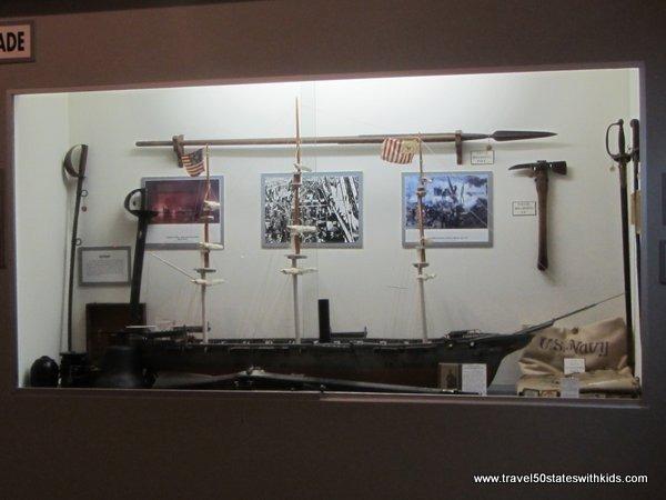 Ship Model - Bardstown Civil War Museum