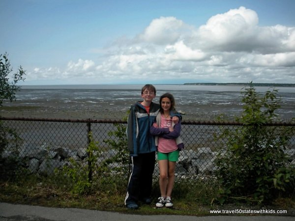 Tony Knowles Coastal Trail - Anchorage Light Speed Planet Walk