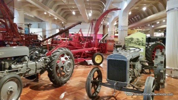 Tractors at Henry Ford Museum