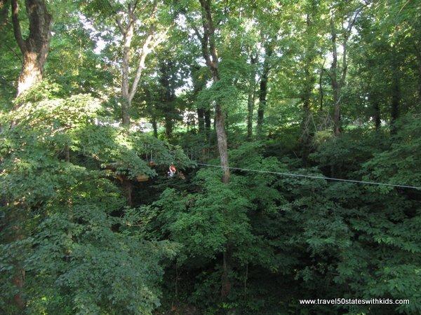 Zipline - Hidden River Cave