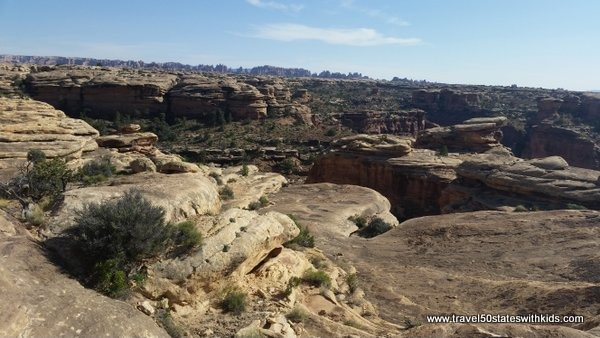 Canyonlands - hiking the Slickrock Trail