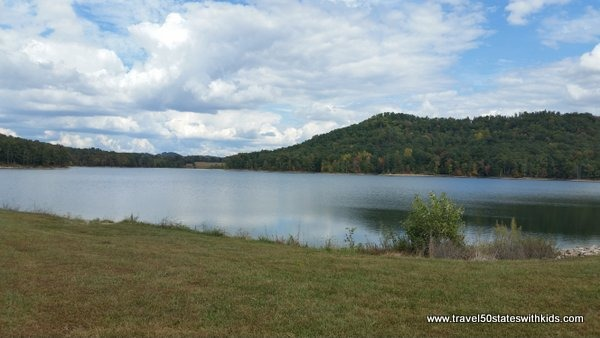 Fagan Branch Lake in Lebanon Kentucky