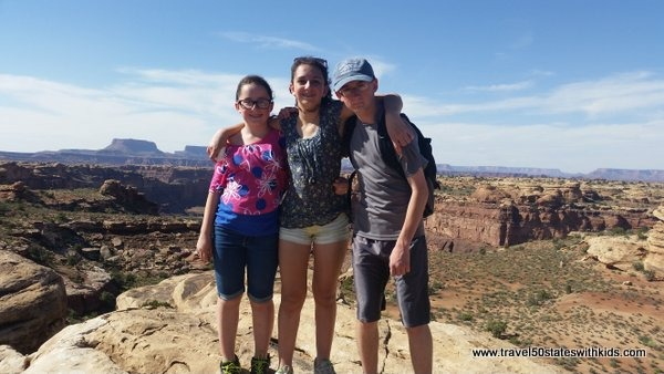 Hiking at Canyonlands