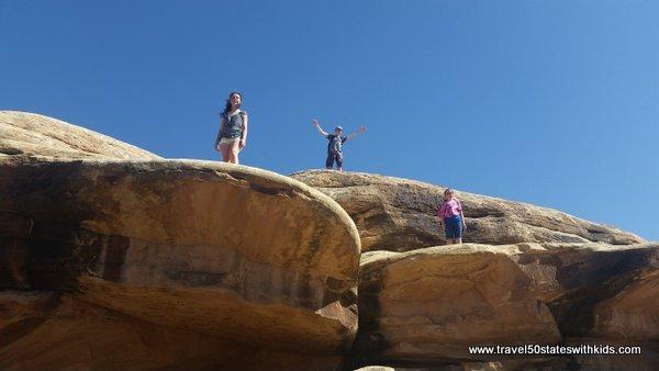 Kids love Canyonlands
