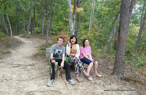 Kids love hiking the Gorley Trail