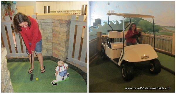 Mini golf at MY Museum