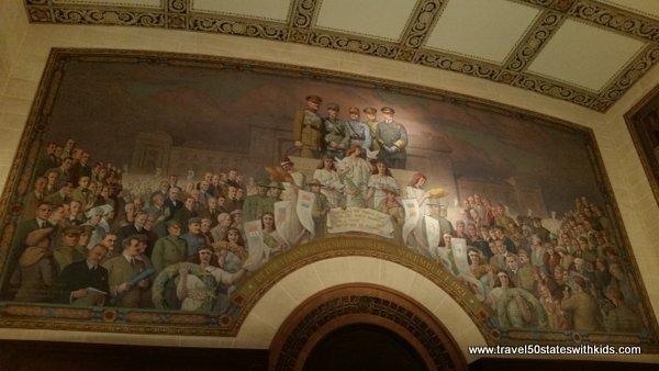 Mural at WWI Museum