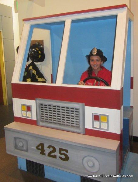 Pretend fire truck - MY Museum