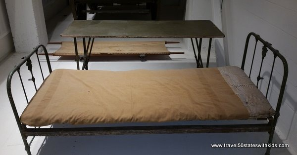 WWI Museum Hospital Bed