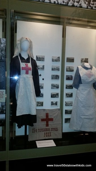 WWI Museum Nurse Uniforms