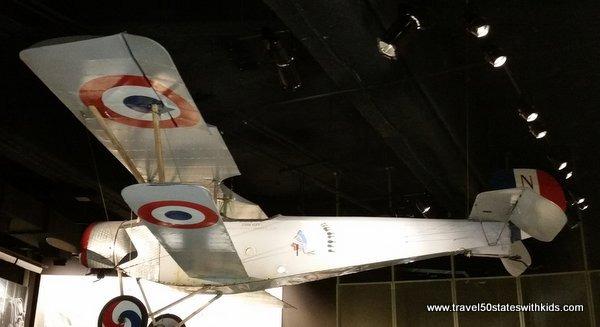 WWI Museum plane