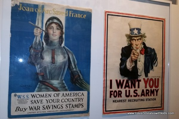 WWI Museum posters