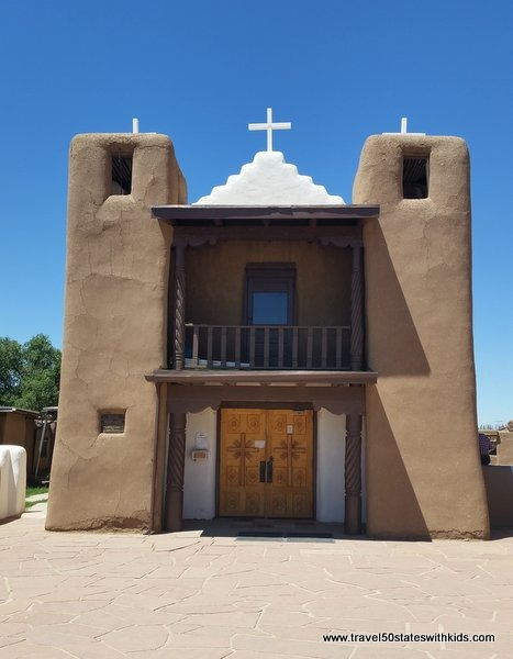 San Geronimo Church in Taos Pueblo