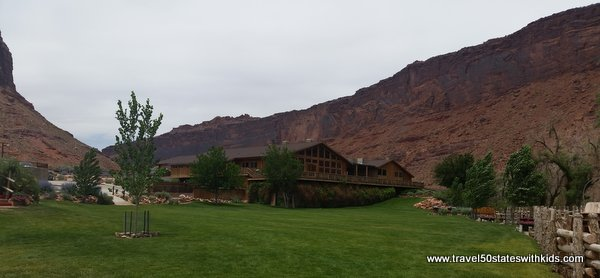 Utah – Family-friendly hotel with an amazing view