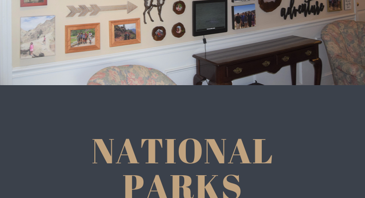 Displaying Travel Memories – My National Parks Wall