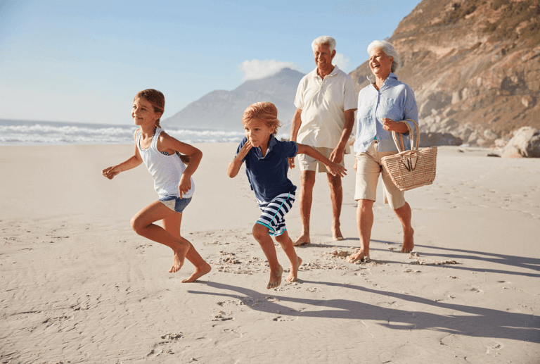 Grandparent-Grandchild trips