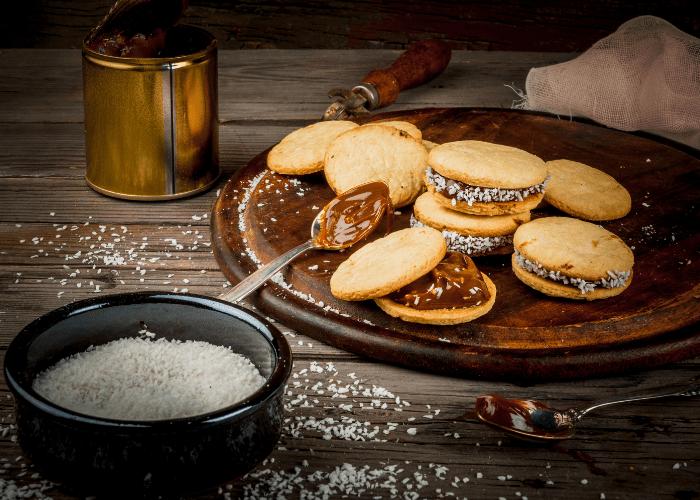 Argentina - alfajores cookies